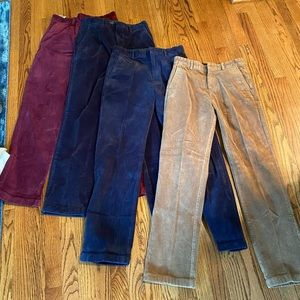 Lot of four pair of Brooks Brothers pant
